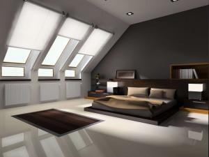 Chłodniejsze poddasze, dzięki roletom dachowym